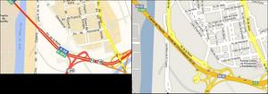 Google Maps Vs Viamichelin